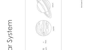 Solar system diagram tims printables solar system diagram ccuart Choice Image