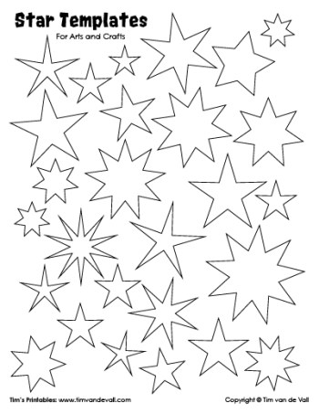 Star Templates Sheet