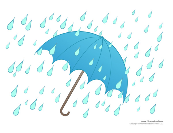 Umbrella Template Printable