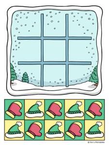 Winter Tic Tac Toe Game
