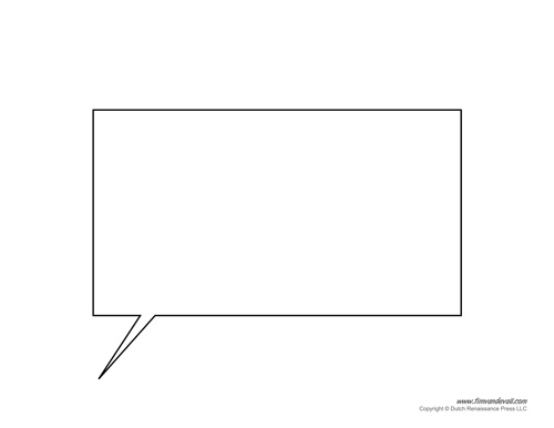 Word Balloon Template