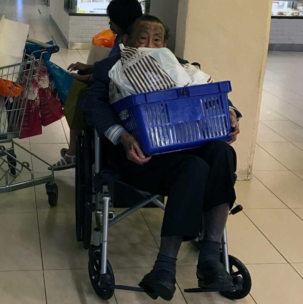 Singapore-Old-Wheelchair