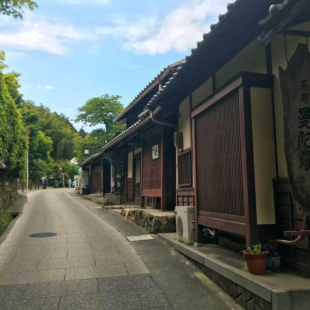 Japan Kyoto Autentiek Dorp 01