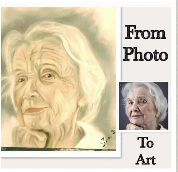 From photo to art