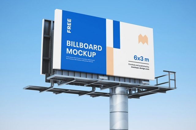 100 best free billboard mockups mockuptree