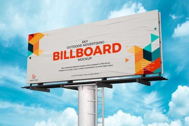 100 best free billboard mockups mockuptree