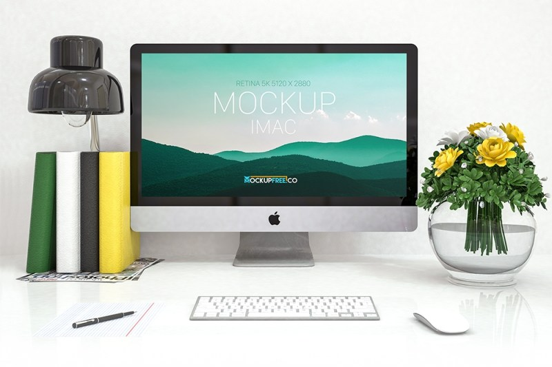 32 essential desk mockups for graphic design colorlib