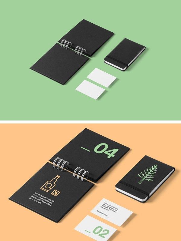 61 free branding identity stationery psd mockups