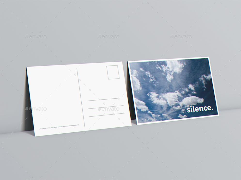a6 flyer postcard invitation mockup goner13 graphicriver