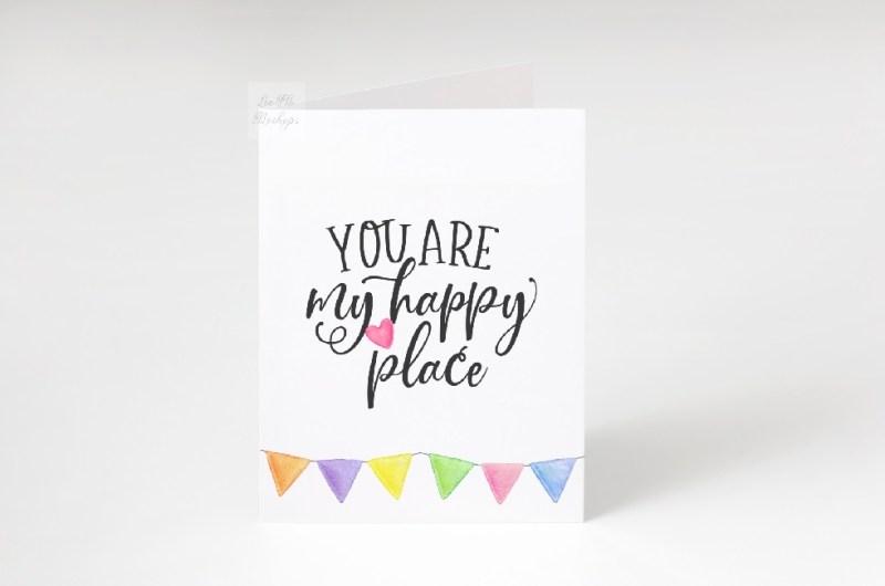 blank greeting card mock up minimal vertical cards mockup