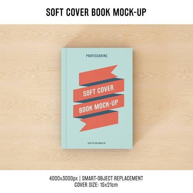 book cover mock up design psd file free download