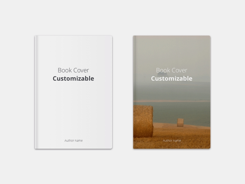 book cover mockup for sketch freebie download sketch resource