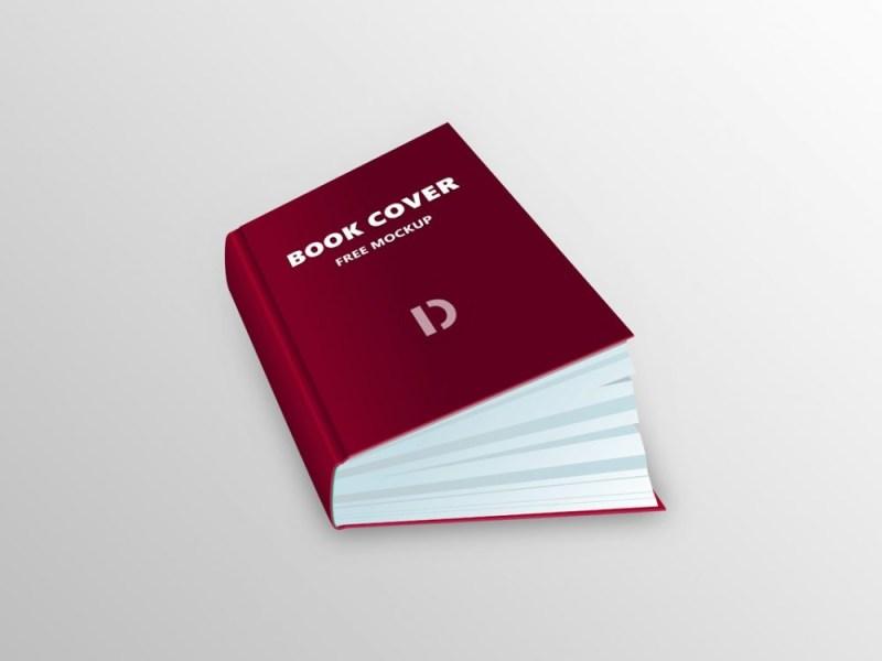 book cover mockup free psd daily mockup