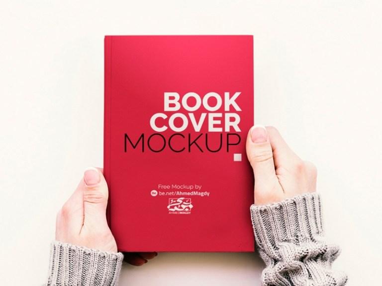 book cover mockup free psd template psd repo