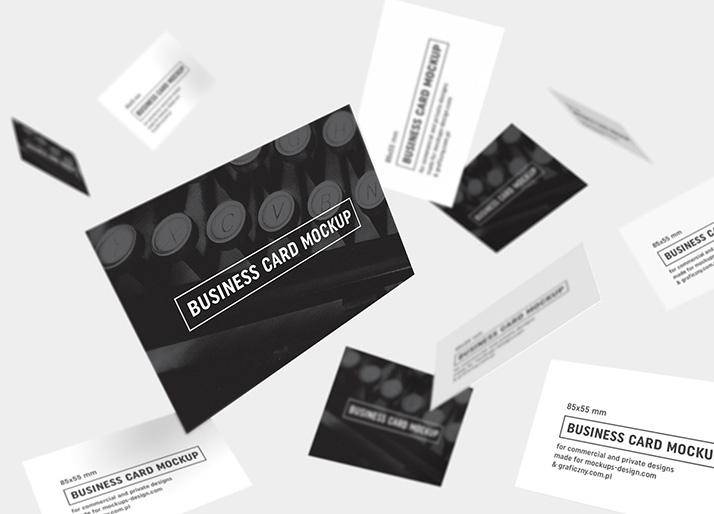 business cards mockup 85x55 mm mockups design free premium mockups