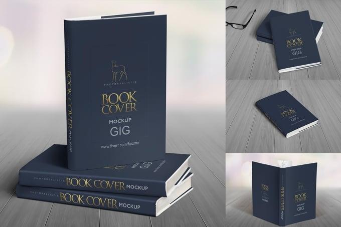 create impressive 3d book cover mockup faizme