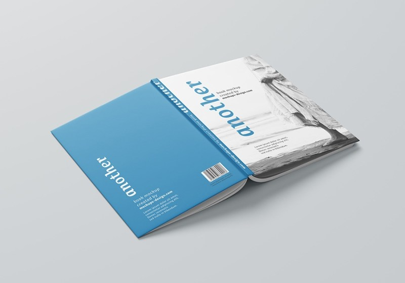free a4 hardcover book mockup mockups design free premium mockups