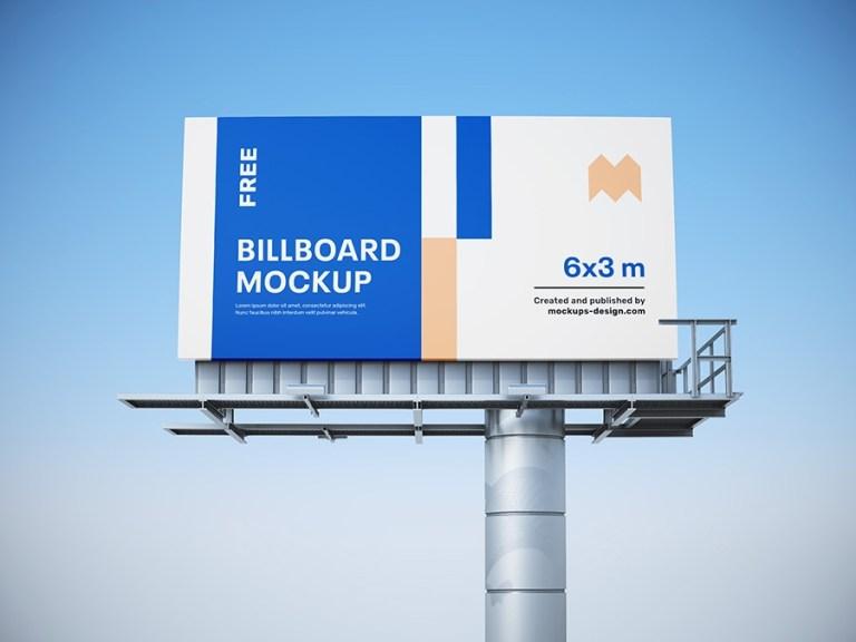 free billboard mockup mockups design free premium mockups