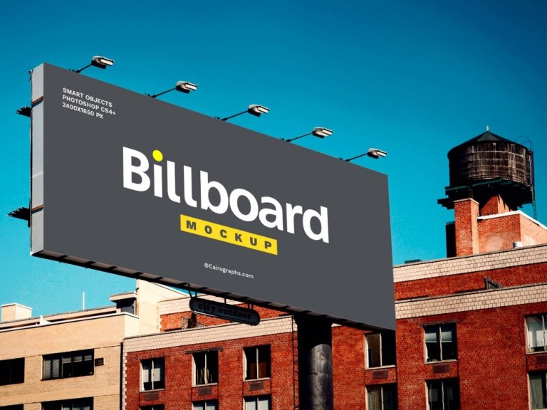 free billboard mockup psd template daily mockup