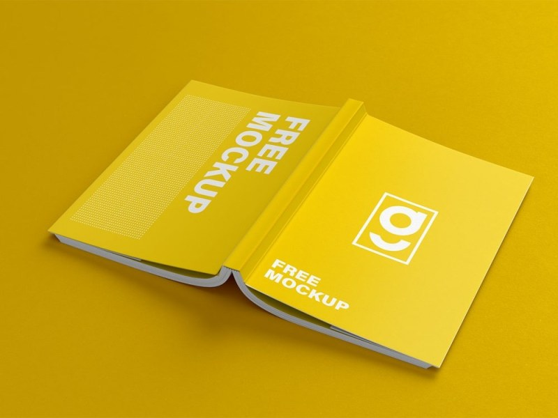 free book cover mockup free mockup