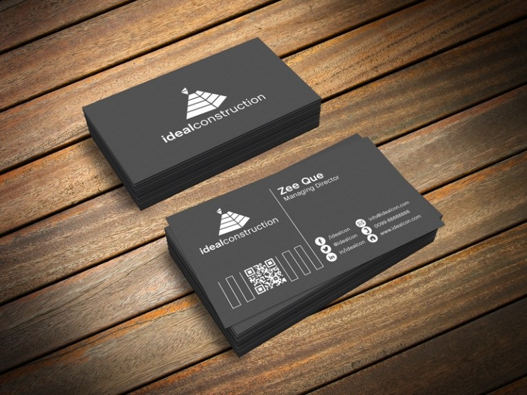 free business card mockup psd 3ds max render file zee que