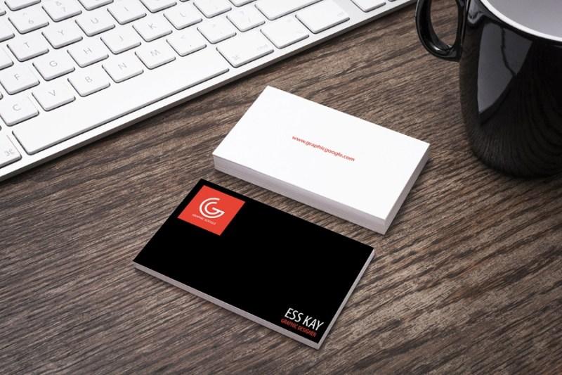 free designer business card mockup free design resources