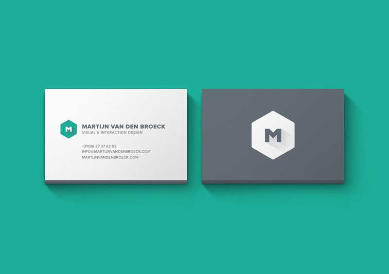 free minimal business card mockup mockuptree
