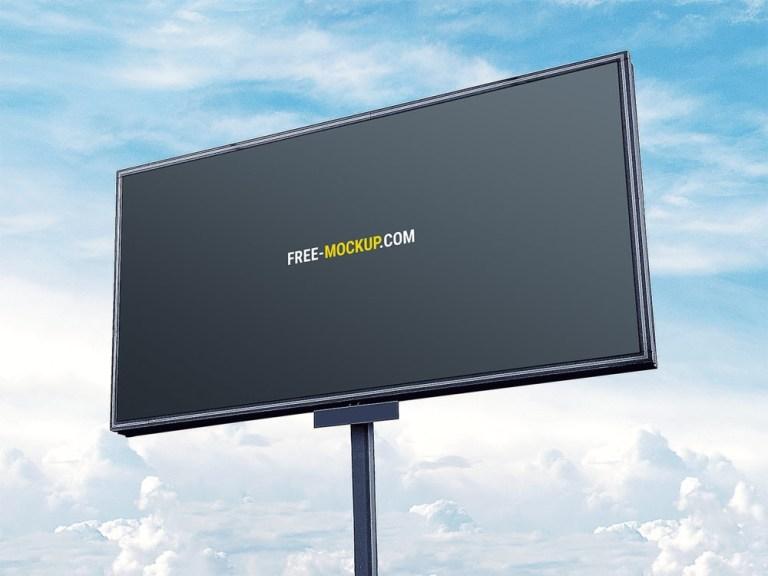 free outdoor billboard mockup free mockup