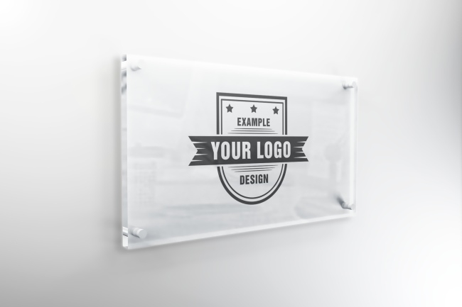 interior glass sign mockup template mediamodifier