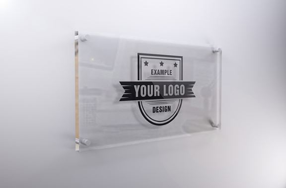 interior glass sign mockup template sharetemplates