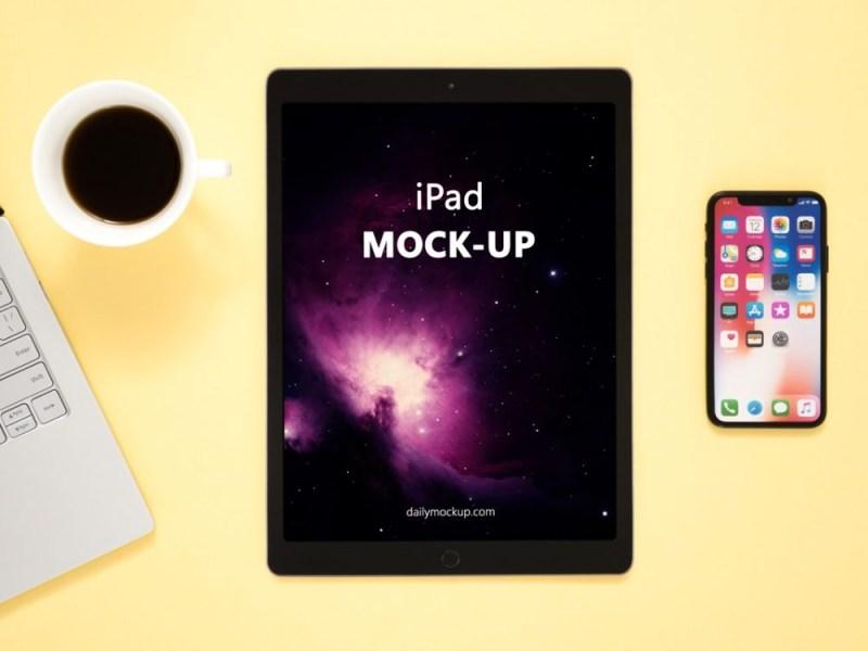 ipad mockup free psd template daily mockup