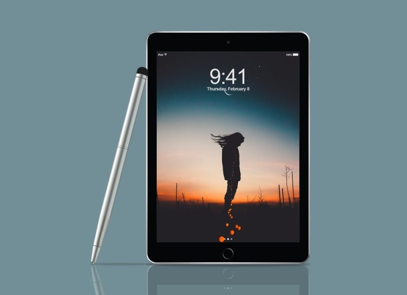ipad pro with pen mockup mockupworld