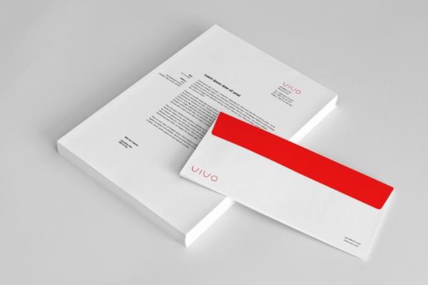 letterhead mockup behance branding stationery mock up on behance