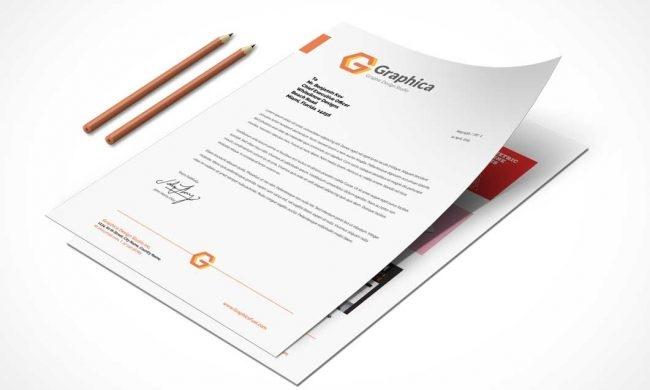 letterhead mockup free download seeoutlook