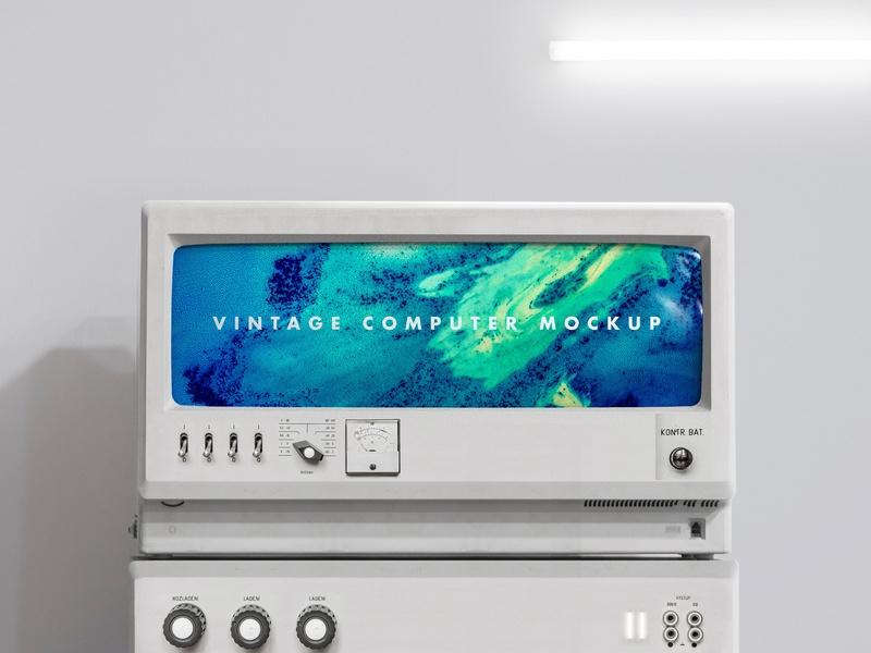 m o c k u p vintage computer jean claeys on dribbble