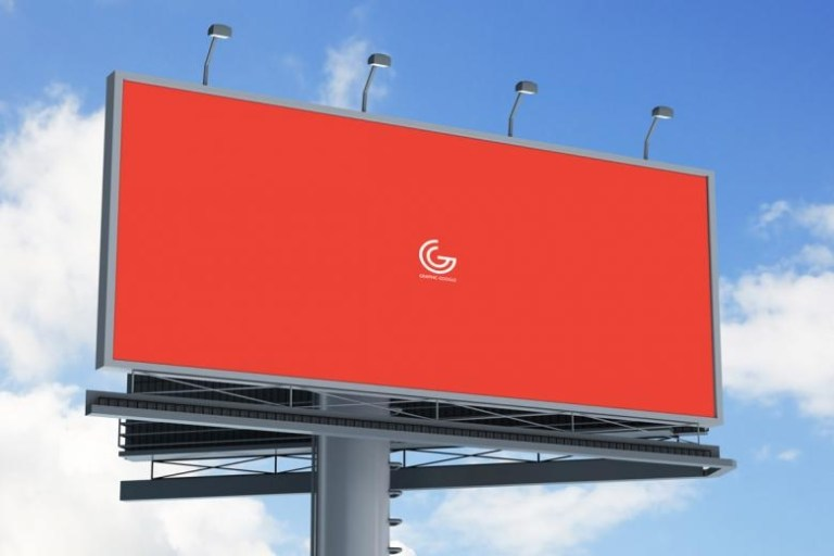 outdoor billboard mockup the creative feed