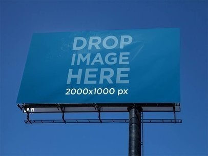 placeit mockups images billboard intense blue