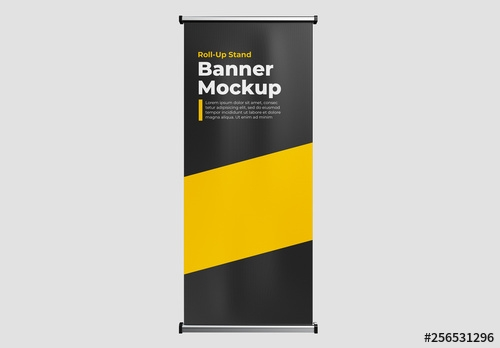 roll up banner mockup buy this stock template and explore similar
