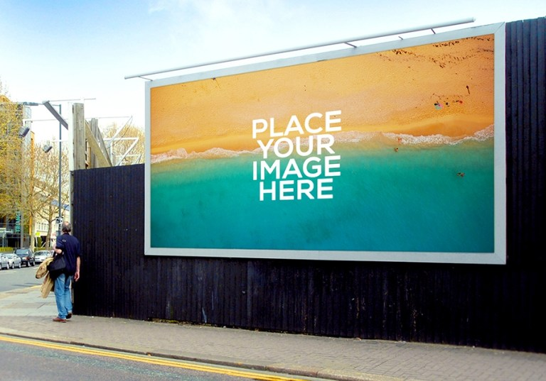 set of billboard mockups mockupworld