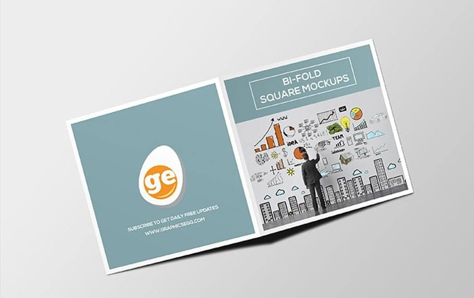 square bifold brochure mockup psd css author