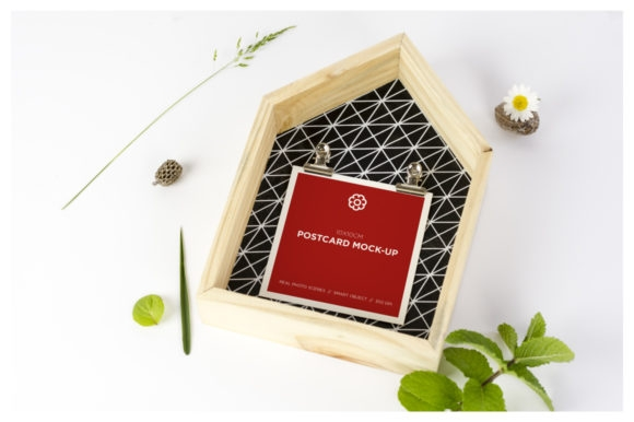 square postcard mockup graphic dumitrasconiudesign creative