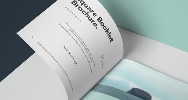 square psd brochure mockup vol5 psd mock up templates pixeden