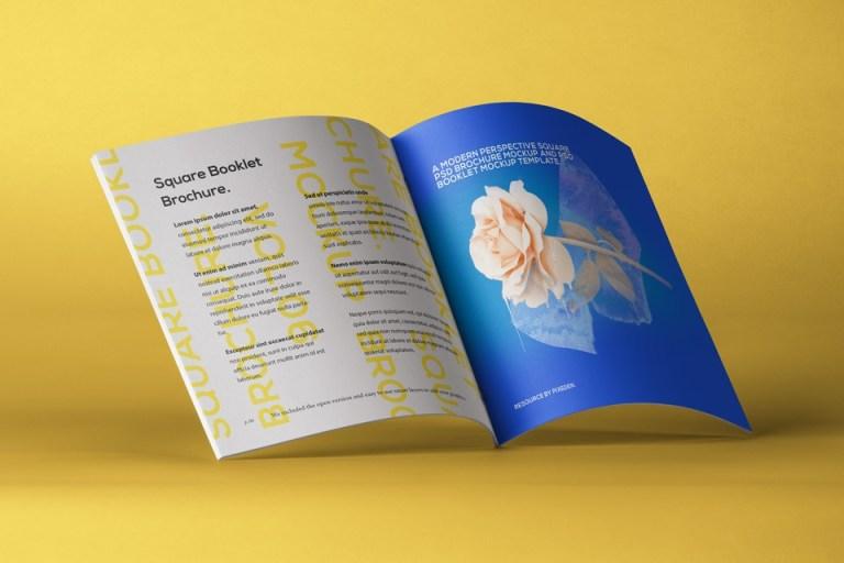 square psd brochure mockup vol6 psd mock up templates pixeden