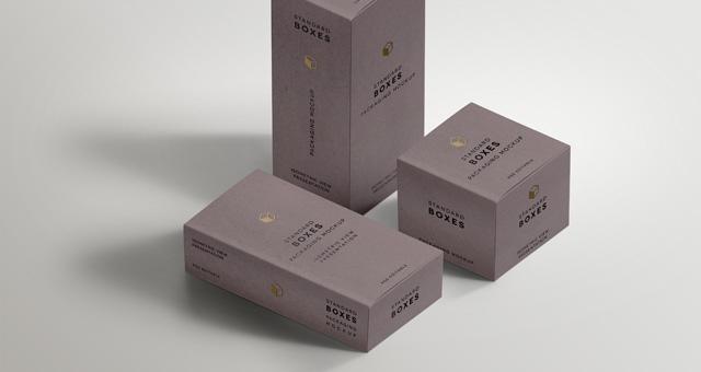 standard packaging box mockups psd mock up templates pixeden