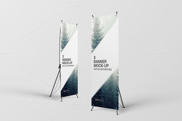 x banner mock up alkstudio on creativemarket banners banner