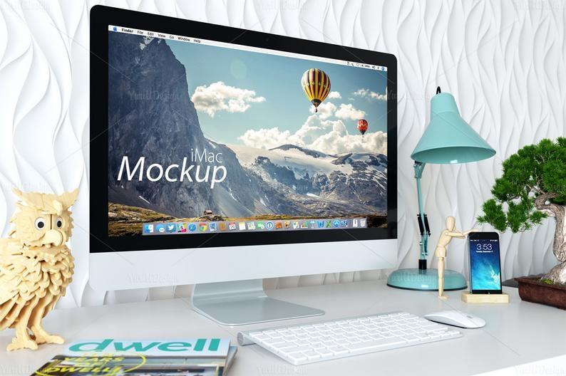 1 psd imac mockup 05 computer screen design imac mockup etsy