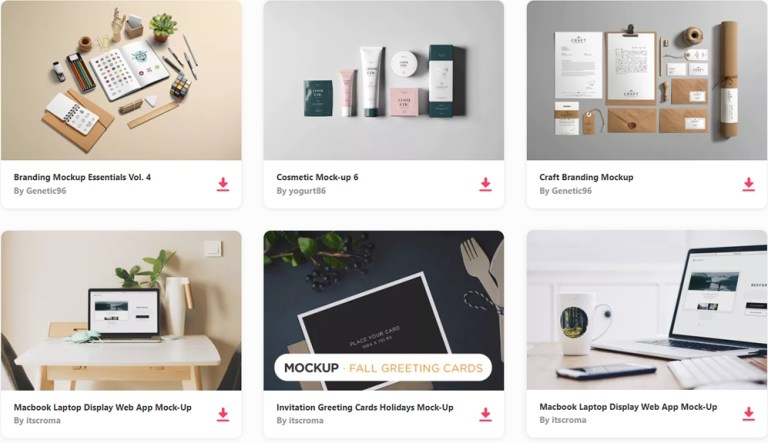 100 free high resolution photorealistic mockup templates web
