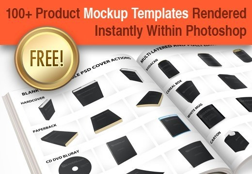 100 royalty free psd product branding mock up templates