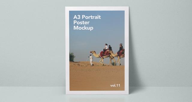 a3 psd poster mockup vol11 psd mock up templates pixeden