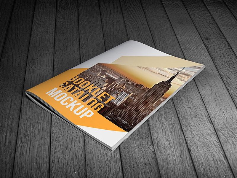 booklet mockup vectogravic design on dribbble